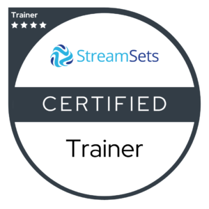 StreamSets Certified Trainer Badge